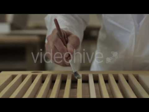 DIY Paint Varnish Wood - Stock Footage | VideoHive 13057762