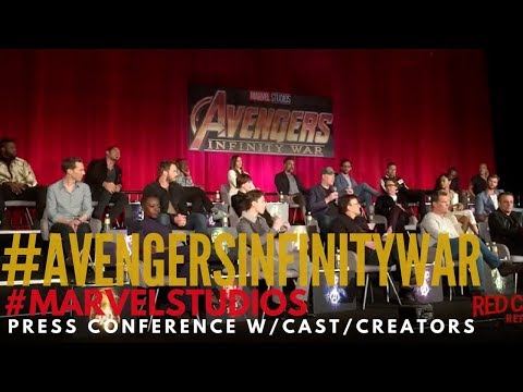 Go Behind the Scenes at the Avengers: Infinity War press event, Marvel, Robert Downey Jr, Ironman