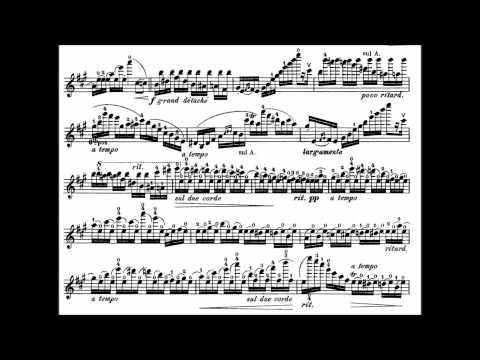 Wieniawski, Henryk op.15 Variations on an original theme for violin + piano