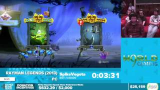 Rayman Legends by SpikeVegeta in 1:34:57 - Awesome Games Done Quick 2016 - Part 5