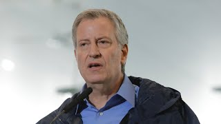 New York mayor speaks about protests
