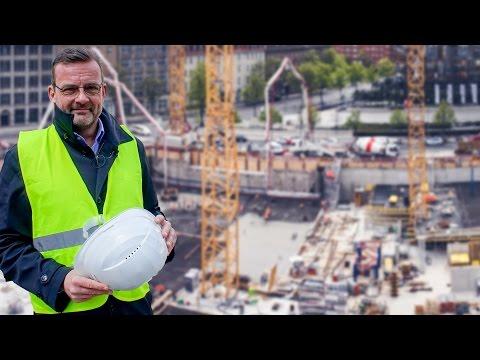 Axel-Springer-Neubau: Die Baustelle