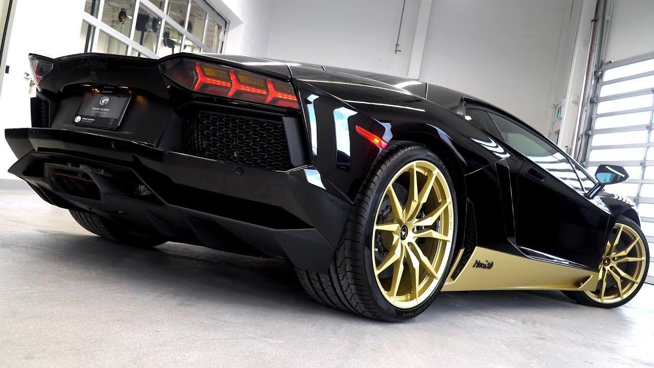 This Is The 2017 Lamborghini Aventador Miura Homage 1 Of 50