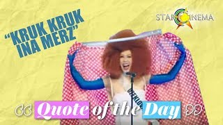 """""""Kruk Kruk Ina Merz"""" 