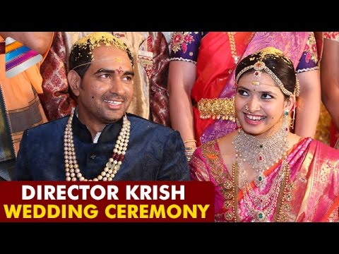 Director Krish Wedding Ceremony | Exclusive Video | Ramya |