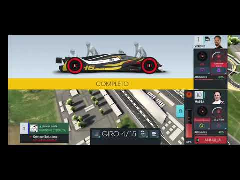 Motorsport Manager Online - Master 4400 - how to win after a bad qualifying and the rain |