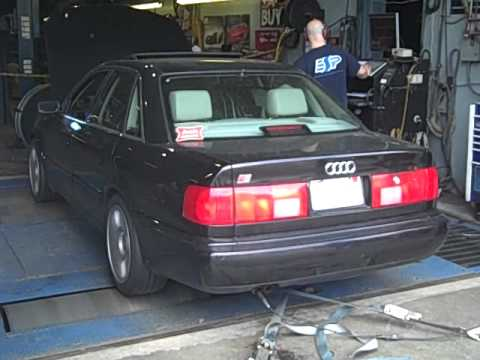 1995 Audi C4 S6 With Rs2 Turbo On Dyno 3 Youtube