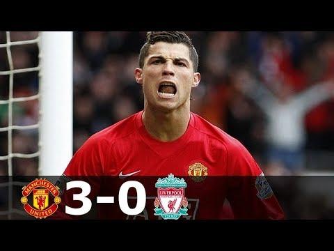 🔥 Манчестер Юнайтед - Ливерпуль 3-0 - Обзор Матча Чемпионата Англии 23/03/2008 HD 🔥