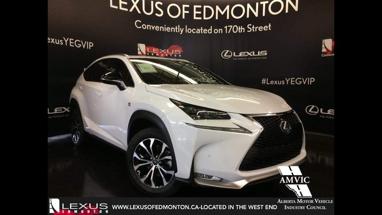 2017 Lexus Nx 200t Awd Review