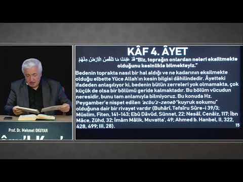Siretü'l Kur'an 1. Ders - Mustafa İslamoğlu