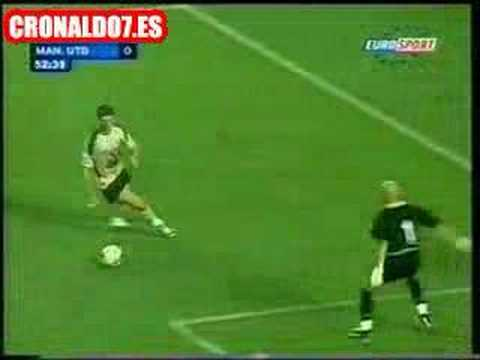 Cristiano Ronaldo (Sporting Lisboa) vs Manchester United
