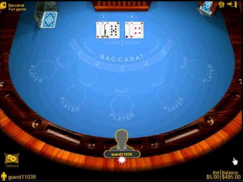 Lucky Samurai - Best Liberty Reserve Casino & LR Casino -  Playing Baccarat