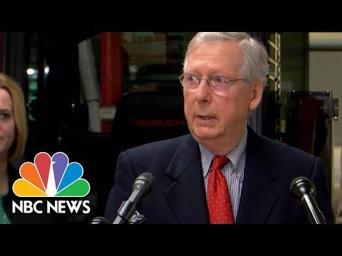 Senator Mitch McConnell On Roy Moore Allegations: 'I Believe The Women' | NBC News