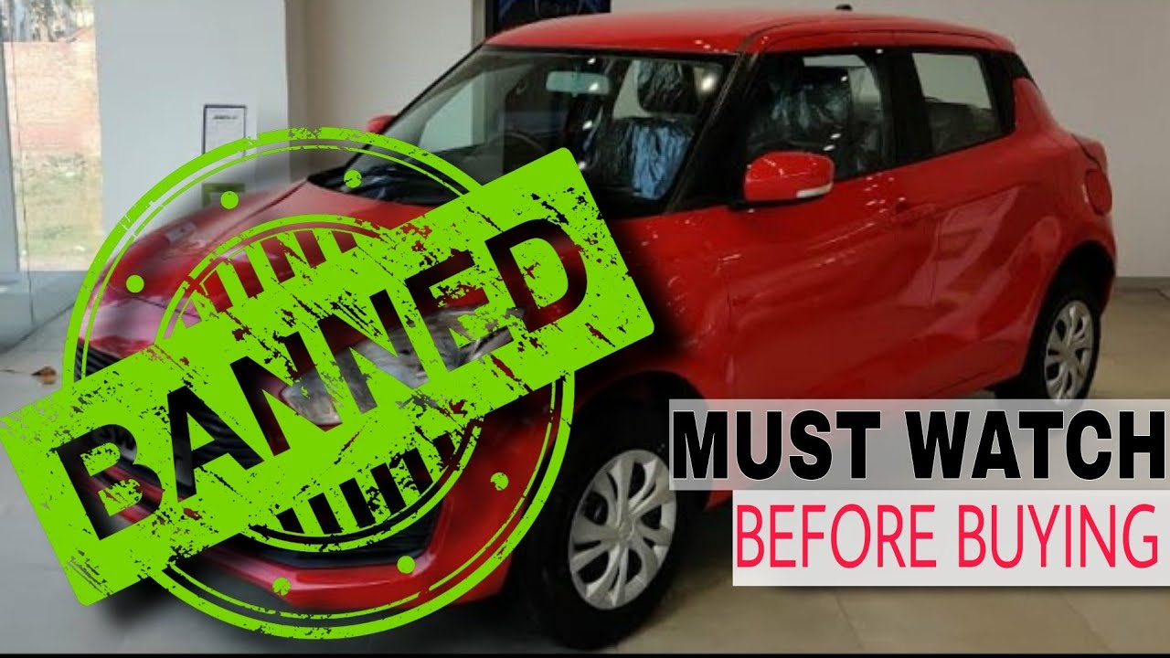 Not a Clickbait!! Maruti Suzuki Swift 2020  DISADVANTAGE that you should know before buying this car