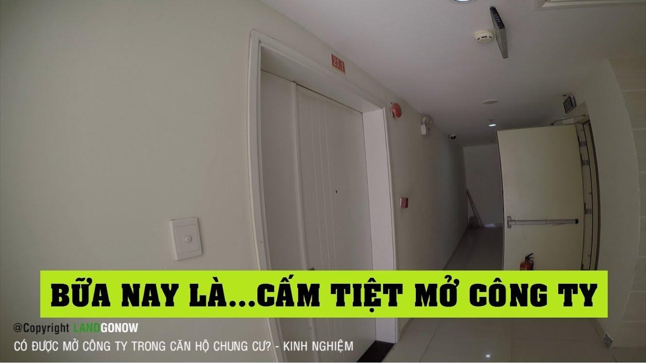 Có được mở công ty trong căn hộ chung cư không? – Land Go Now ✔