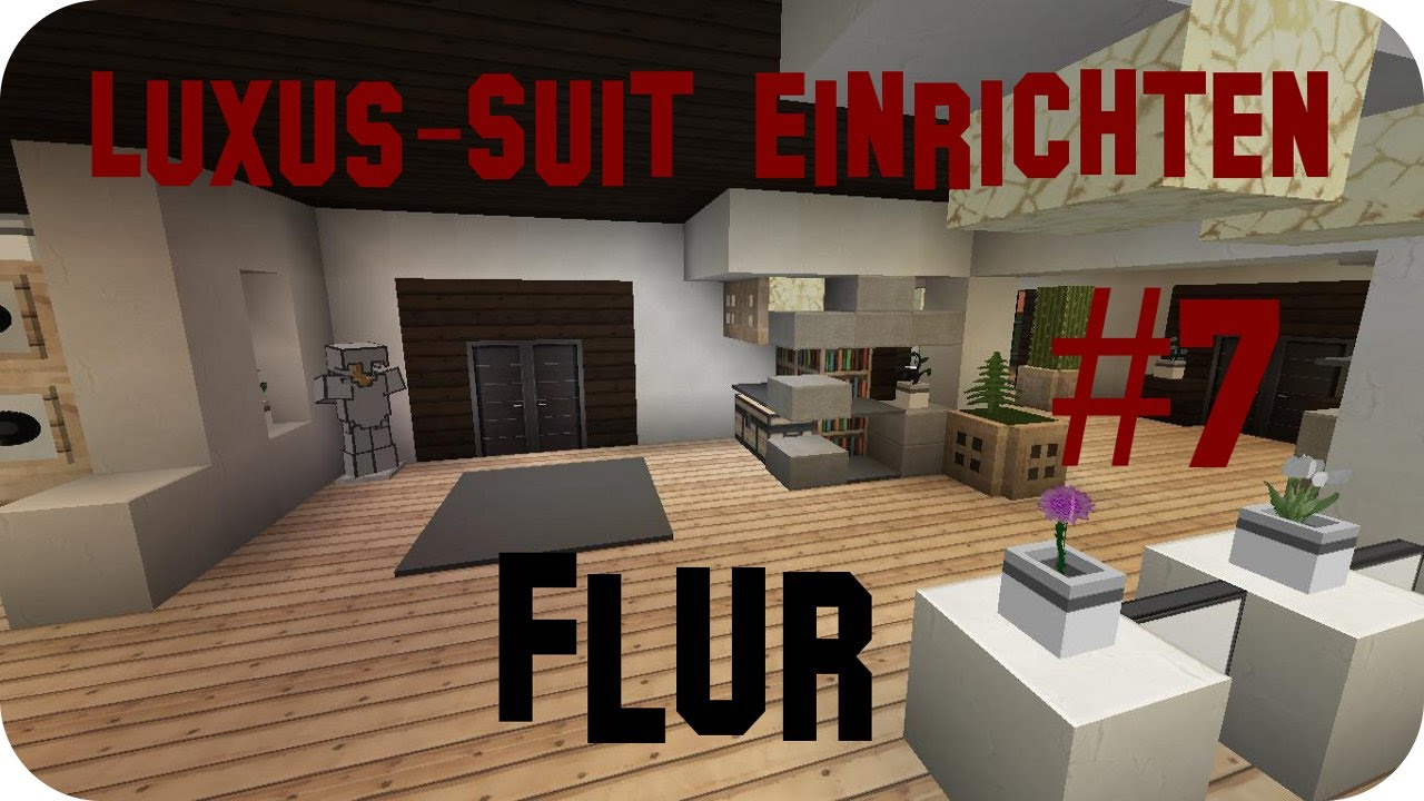 minecraft luxus haus einrichten part 7 jannis gerzen. Black Bedroom Furniture Sets. Home Design Ideas