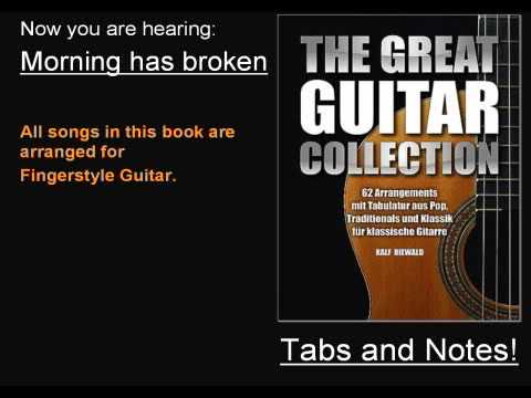 Morning Has Broken Fingerstyle Guitar Tabs Available Ralf