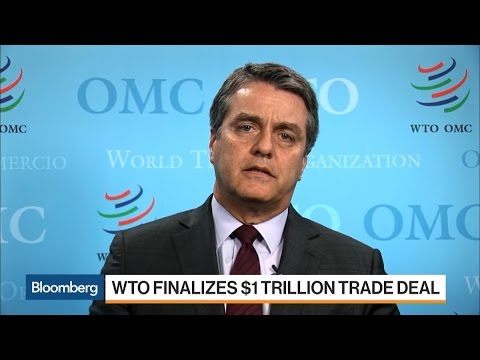 WTO Director General Azevedo on Trade, Brexit, Trump