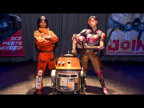 Star Wars Rebels  Weeknd 1: Tiya Sircar @ Star Wars Weekends 2015