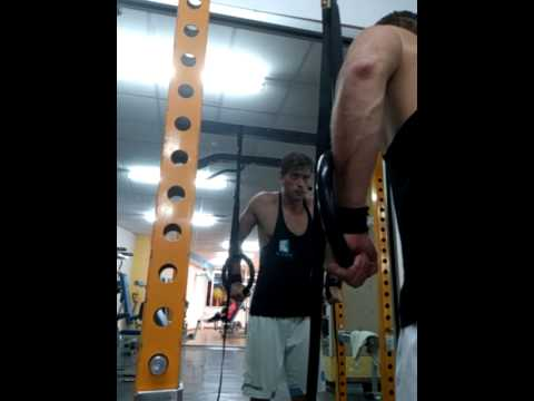ring dips for chest