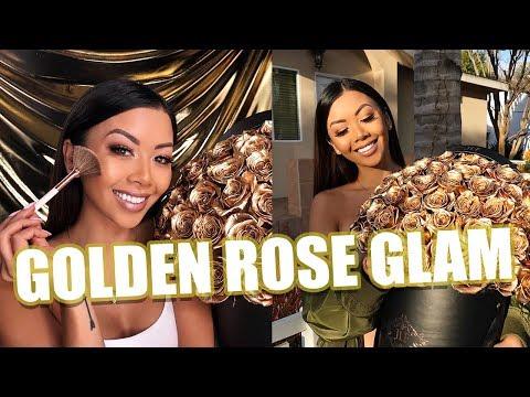 GOLDEN ROSE GLAM (INSPIRED BY DON BENJAMIN'S FLOWERS) | Liane V