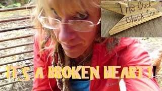 Starry Vlog:  I DONT CARE! ITS A BROKEN HEART! THE REALITY OF HOMESTEADING