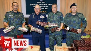 Contraband worth RM8.4mil seized in Johor