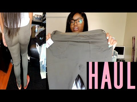 CHEAP PLUS CLOTHING HAUL | DDS DISCOUNTS - YouTube