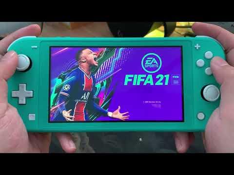EA Sport FiFa 21 Gameplay On Nintendo Switch