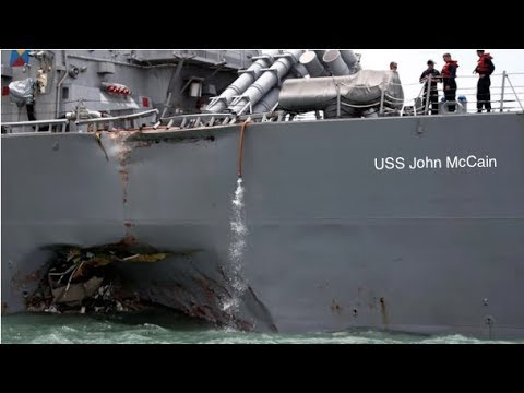 Who's Hacking Our Ships? US Navy Suspects USS McCain Collision Was Caused By Cyber Attack
