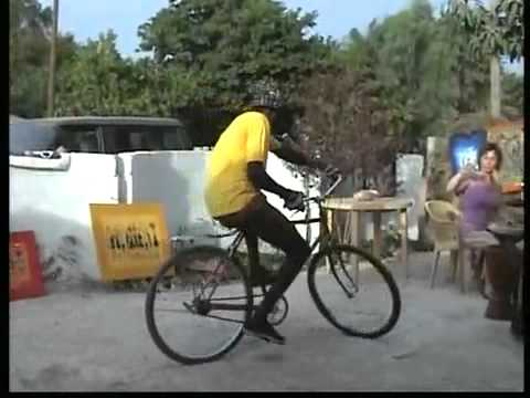 African Bicycle Dancer