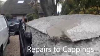 How to Repair & Paint an Exterior Pebbledashed Wall