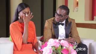 House of LUX Special Tinsel Stars Osas Ighodaro  Gbenro Ajibade  On The Couch
