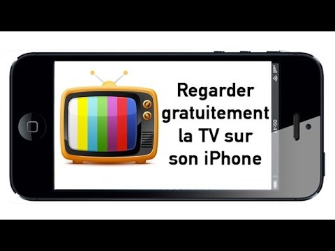 Regarder gratuitement la TV sur son iPhone  TV HD en direct