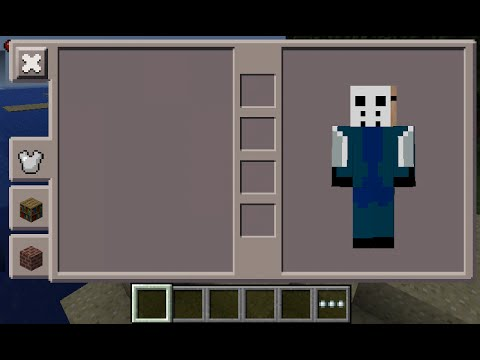 Minecraft PE Jason Skin Costume YouTube - Skins para minecraft pe jason