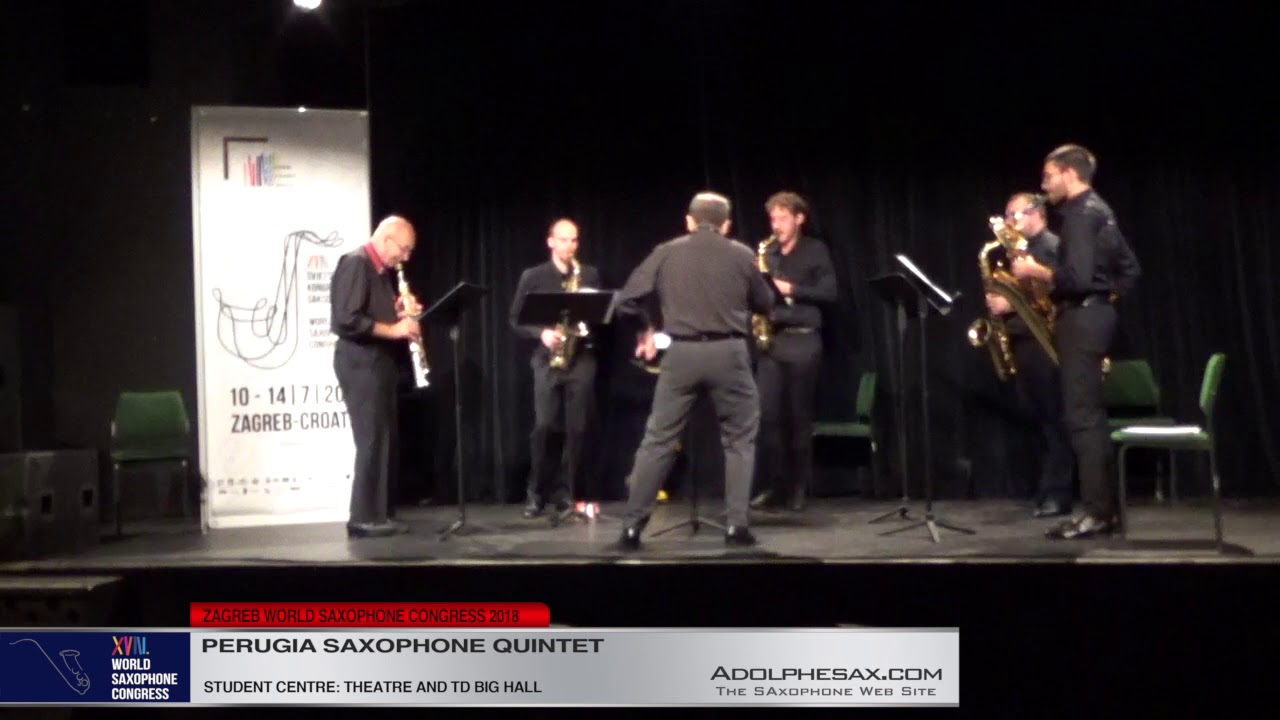 Stand! by Edward Smaldone   Perugia Saxophone Quintet   XVIII World Sax Congre