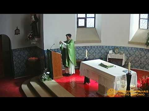 homilia 17 de junho 2018 - paróquia de Palhais/Santo António
