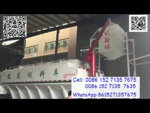 Bulk poultry feed transport truck, How-to video 3