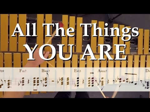 """jazz-vibes-comping-etude---""""all-the-things-you-are"""""""