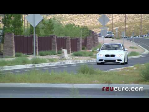 BMW M3 coupe e92  alpine white test drive carbon