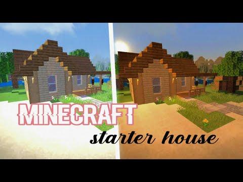 MINECRAFT Starter House (cute) || L i G a Y a
