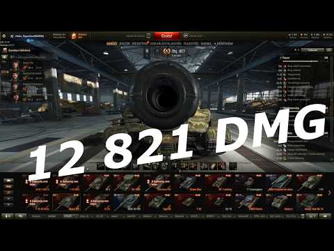 World Of Tanks Object 907 - 12 821 Combined DMG By Epichuszar/Mr_Linkin