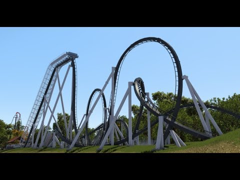 [Nolimits Coaster 2] Ochiru  - B&M Dive Coaster (60fps)