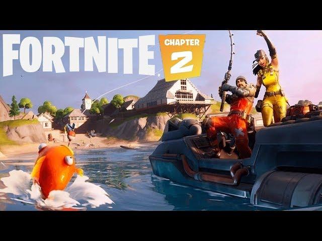 Fortnite Chapter 2! - Lanchas, Pescaria e Estilo Puro!!