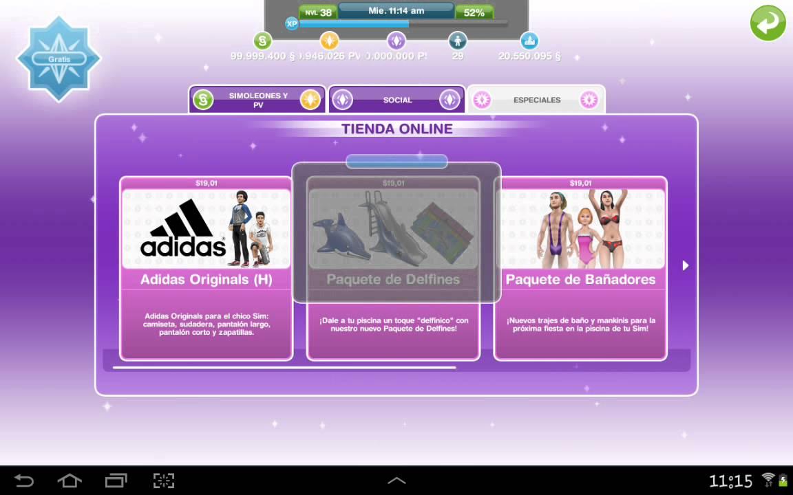 Problemas con la tienda on line por freedom! Los sims free play ...