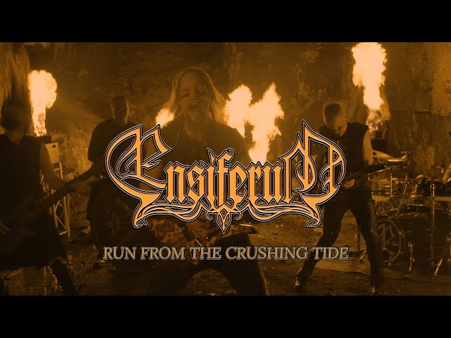 Ensiferum - Run from the Crushing Tide (OFFICIAL VIDEO)