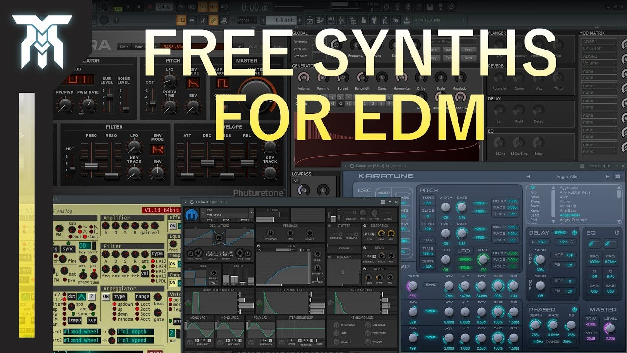Best Free VST Synths for EDM & Electronic Music (2019)