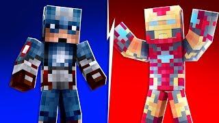 Minecraft - 4-Player Superhero Creator Custom Minigame   JeromeASF