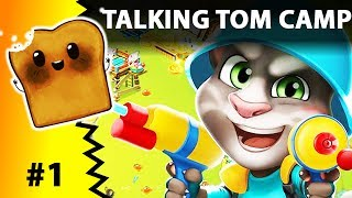 TALKING TOM CAMP GRA PO POLSKU - Podobna do CLASH OF CLANS?