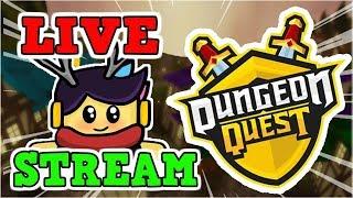 Live Stream Roblox Dungeon Quest, nova atualização está aqui #13, estrada para 500 Subs